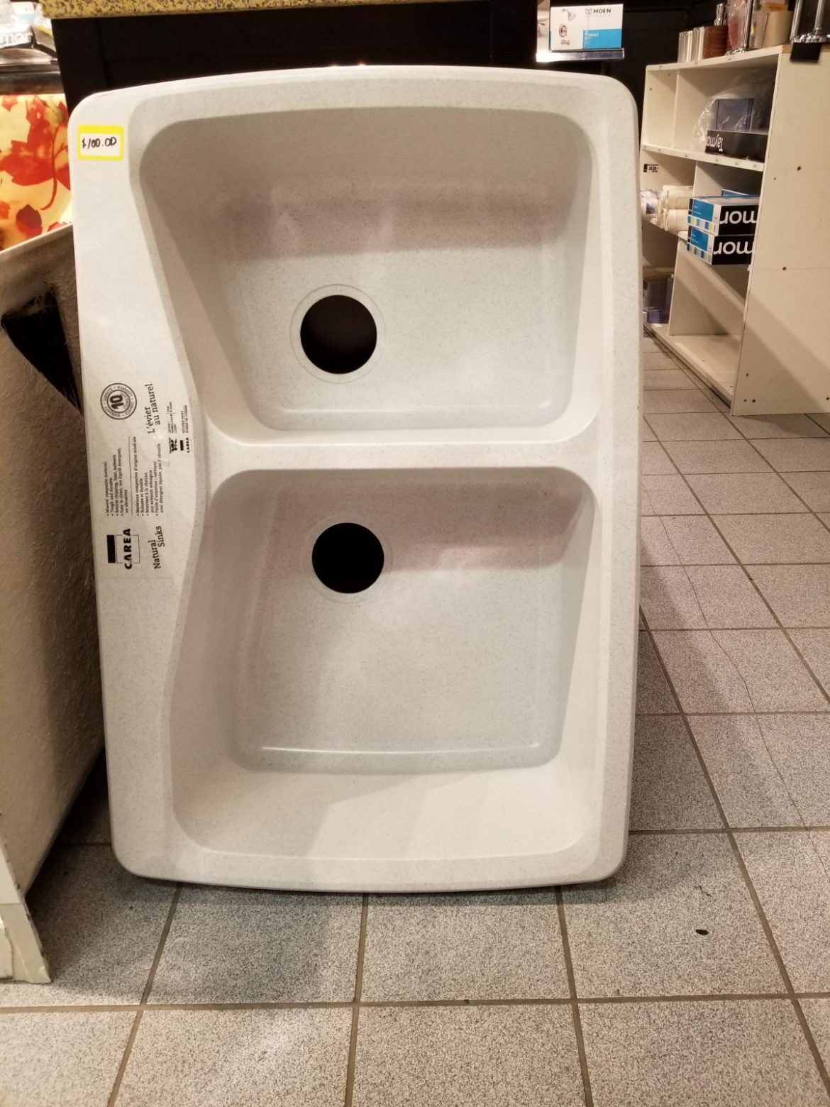 Carea Double Bowl SInk