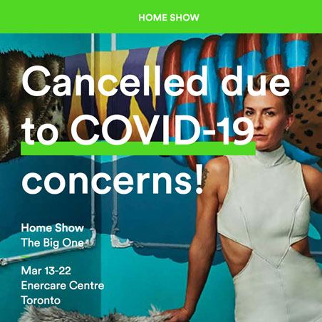 Home Show cancelled due to COVID-19 concerns